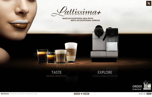 Nespresso Lattissima +
