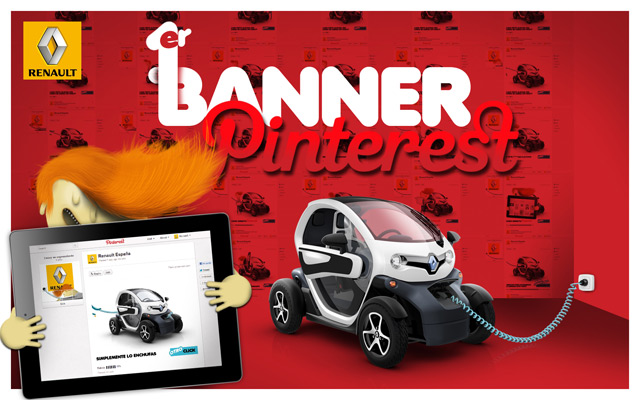 Renault España : 1ère banner Pinterest