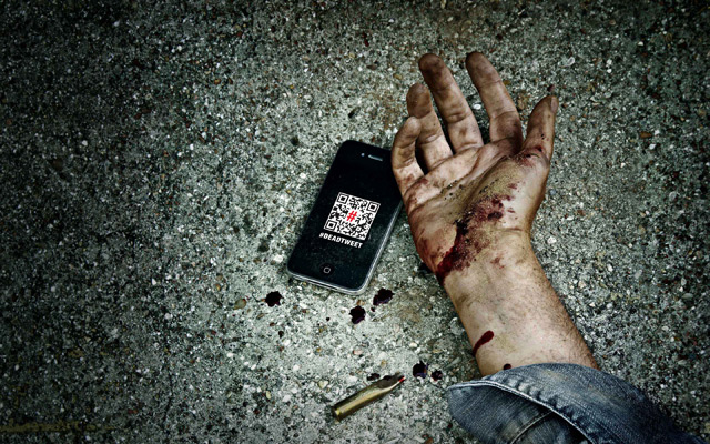 Reporters sans frontières : Dead tweet