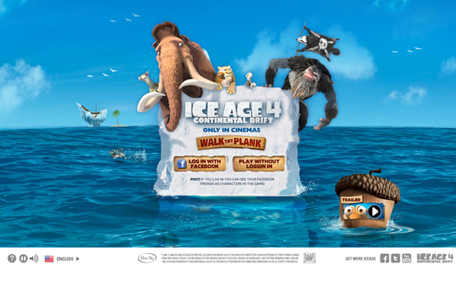 Ice age 4 : Walk the plank