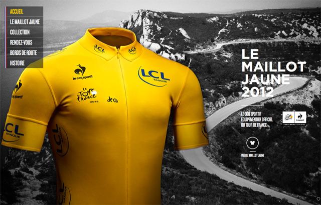 Le coq sportif : Tour de France 2012