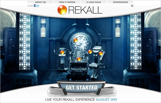 Welcome to Rekall