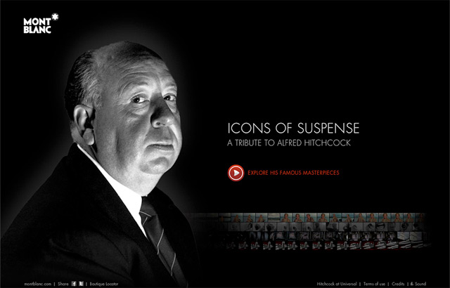 Mont Blanc : A tribute to Alfred Hitchcock