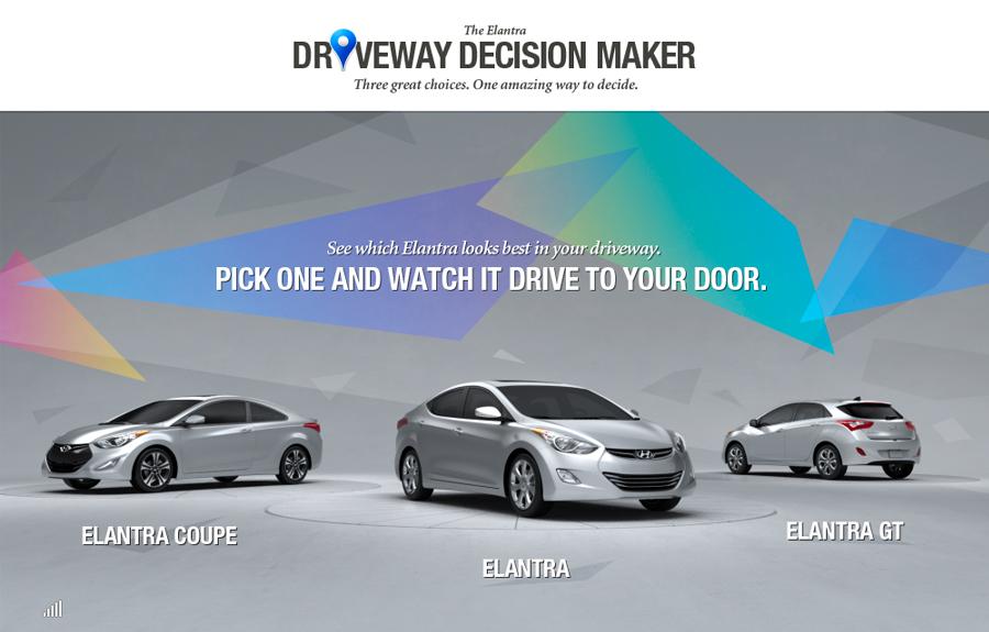 The Elantra | Driveway decision maker