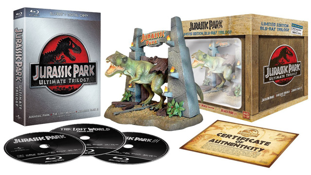 Jurassic Park - Ultimate Trilogie - Edition Collector [Blu-ray]
