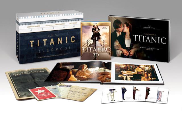 Titanic - Coffret collector - Edition limitée [Blu-ray]
