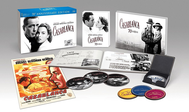 Casablanca - 70th Anniversary Limited Collector's Edition [Blu-ray]