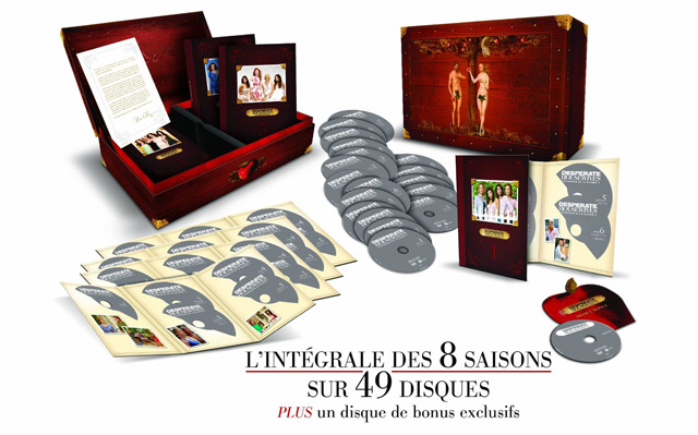 Desperate Housewives - Coffret intégrale saisons 1 à 8