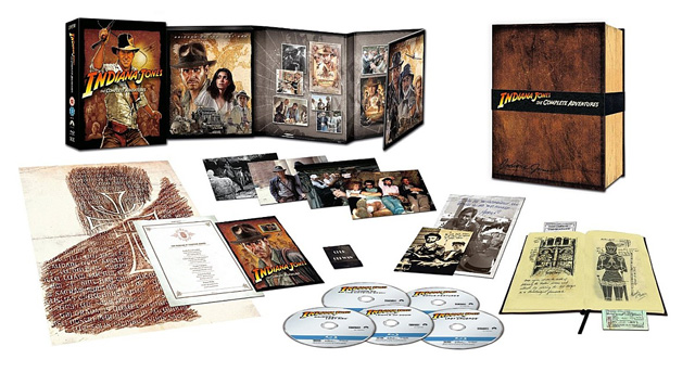 Indiana Jones The Complete Adventures (Limited Edition Collector's Set) [Blu-ray]