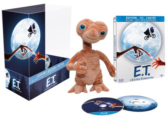 E.T. l'extra-terrestre - Coffret édition limitée [Blu-ray]