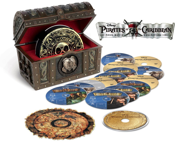 Pirates des Caraïbes - Four-movie Collection [Blu-ray]
