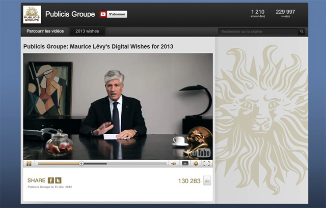 Publicis Groupe | Digital wishes for 2013