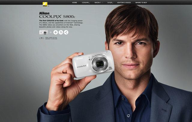 Nikon S800c experience