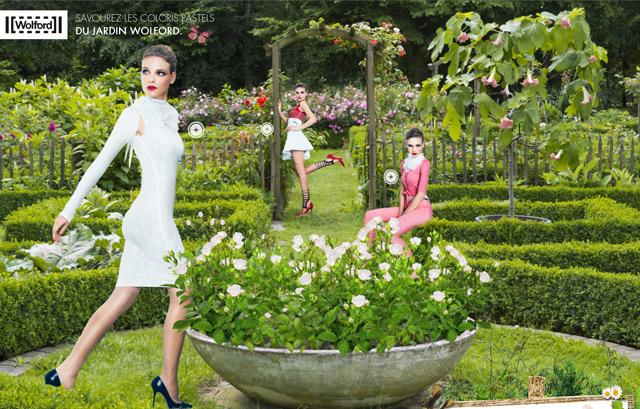 Wolford | Pastel garden