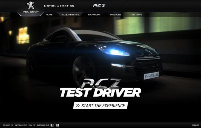 Peugeot | RCZ Test Driver
