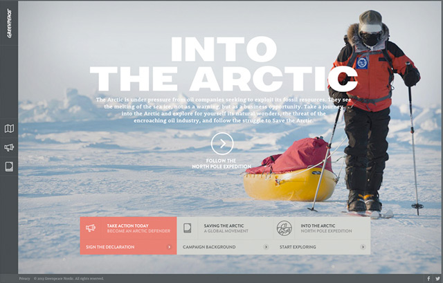 Greenpeace | Into the Arctic