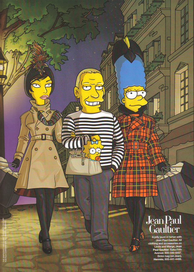 The Simpsons go to Paris (2007)