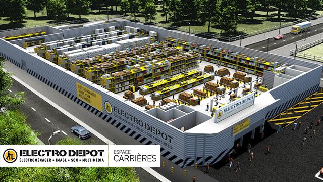 Electro Dépôt | Espace Carrières