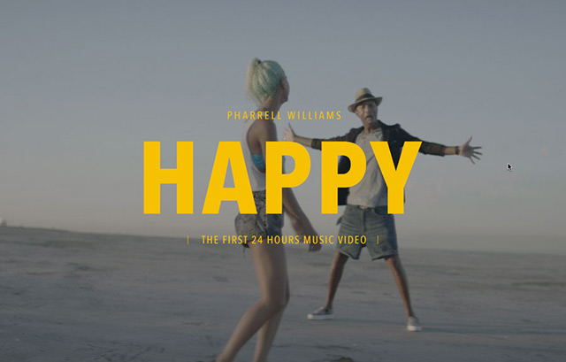 PHARRELL WILLIAMS | HAPPY