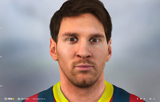 FIFA14 | LIFE-SIZE LIONEL MESSI