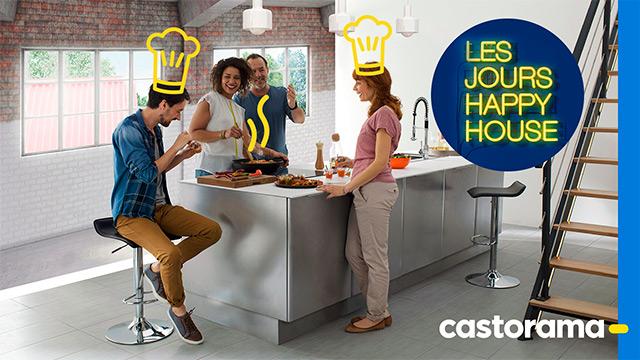 Castorama créé les jours Happy House