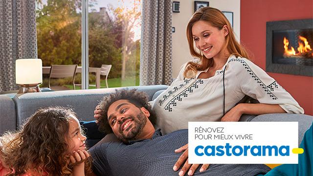Rénovez pour mieux vivre, avec Castorama