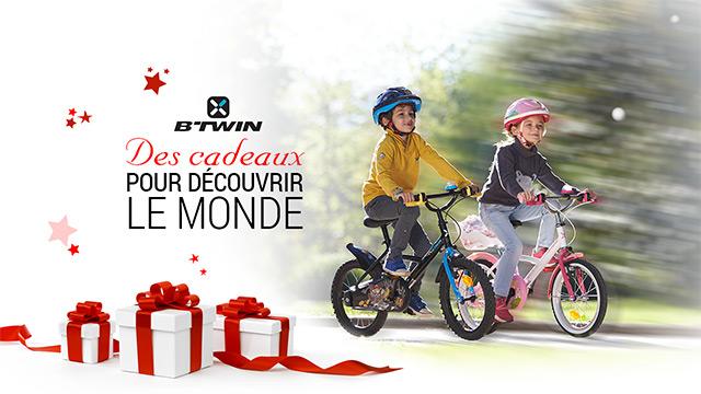 11 panoplies vélos enfants b'Twin pour Noël