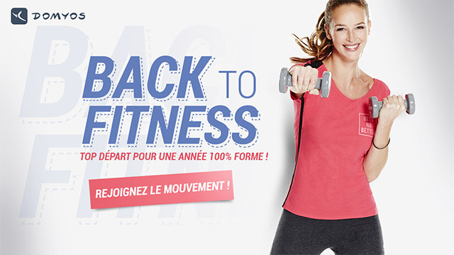 Domyos propose un Mix&Match pour sa collection fitness